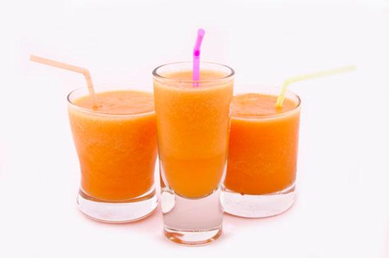 Shake met winterpeen, romige smoothie voor een betere weerstand!
