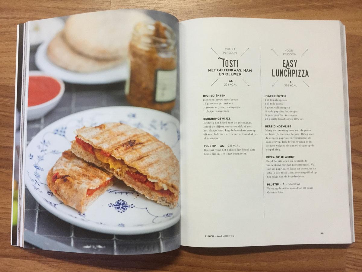 Kookboek Mieke Kosters van XL, naar S