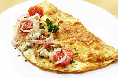 omelet afvallen