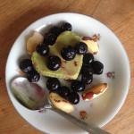 Groene avocado-pudding als ontbijt