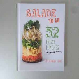 Saladerecepten in pot meenemen naar het werk