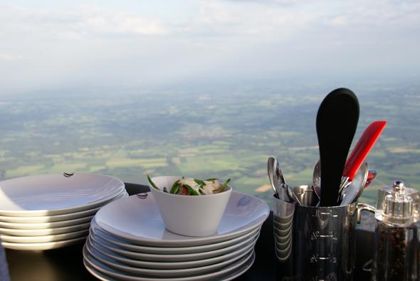 Bijzonder restaurant, uit eten in een luchtballon!