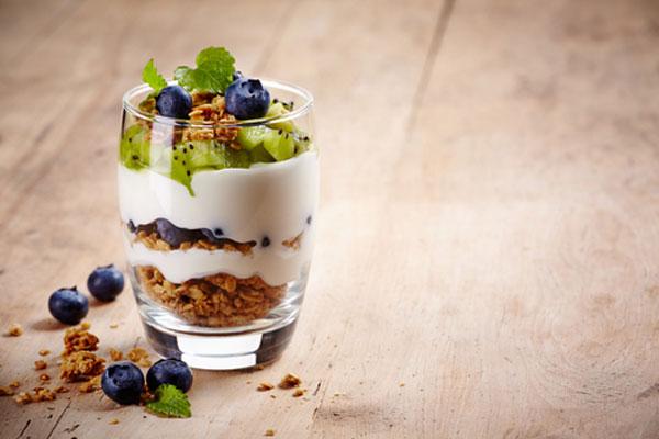 griekse yoghurt met gezonde toppings