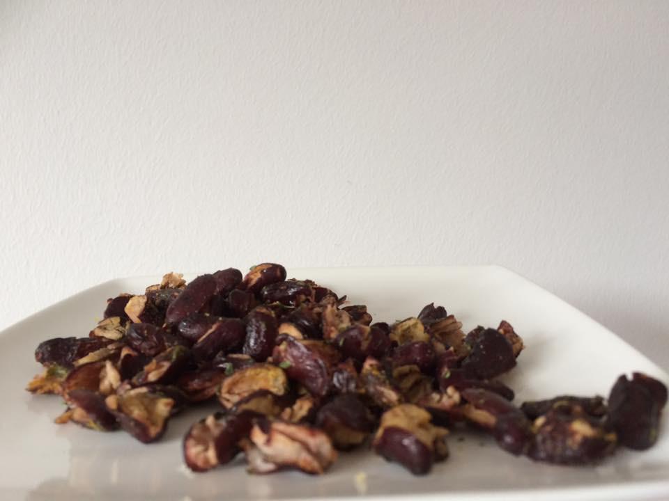 Gezonde snacks van kidneybonen, gezond recept
