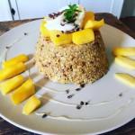 3. Mango Mugcake | Top 5 Gezonde Ontbijtrecepten van Dieuwke
