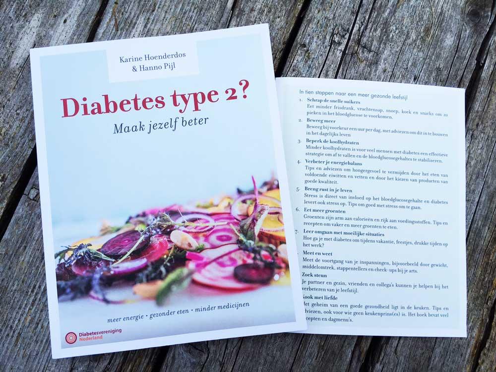 Genees met een gezonde leefstijl van suikerziekte.