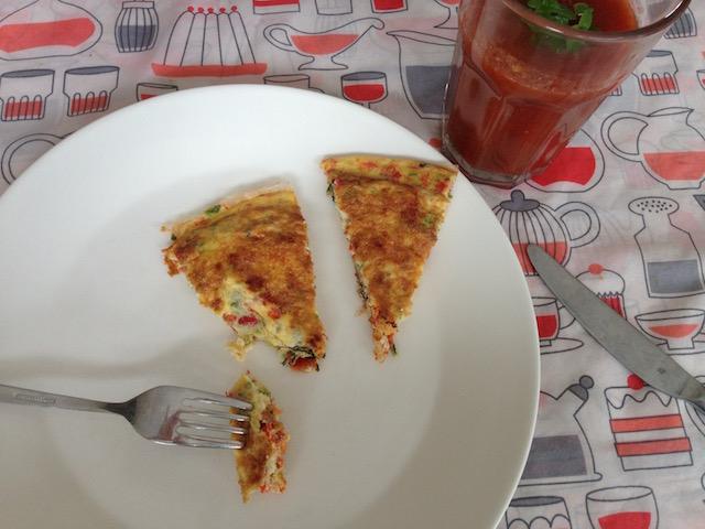 Slow Juicer Gazpacho : Gazpacho met omelet Makkelijk recept