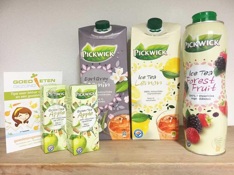 Pickwick ijsthee, een gezonde keuze?