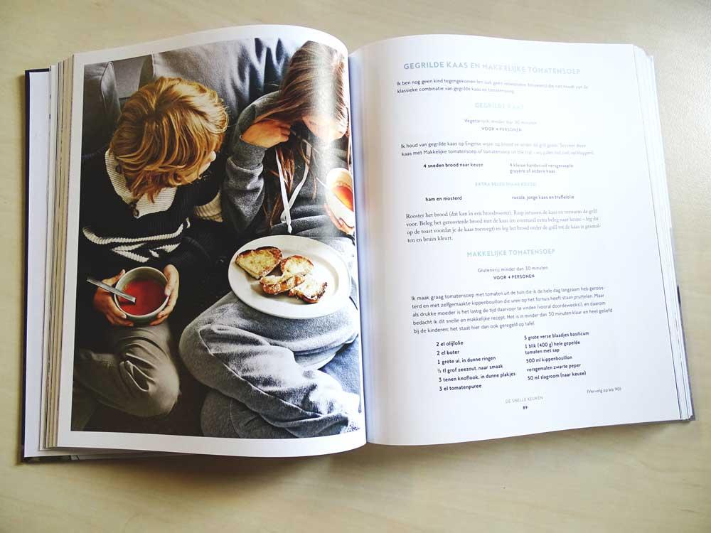 Makkelijke en snelle recepten in dit kookboek van Gwyneth Paltrow