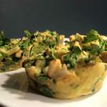 Gezond recept! Hartige crunchy spinazie muffins