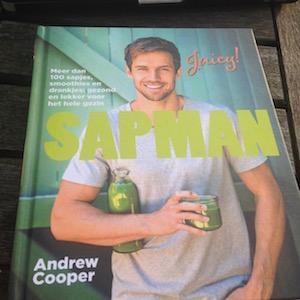 Sapjes en smoothies van de Sapman, kookboek