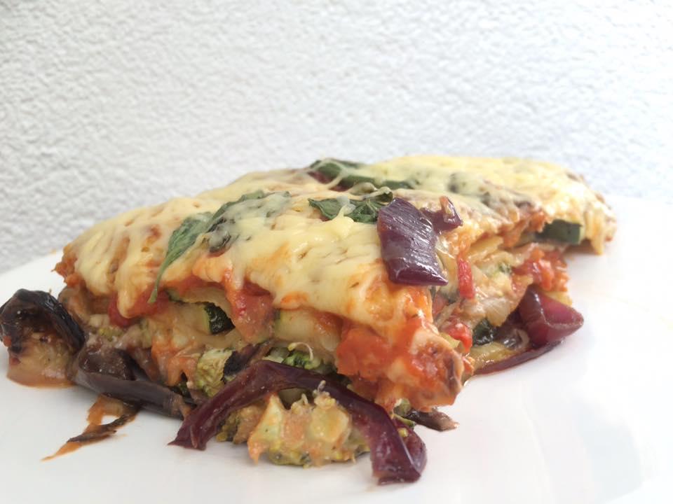 Vegetarische groentelasagna, lekker en gezond recept