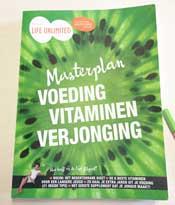 Inspirerend boek over Voeding Vitaminen en Verjonging
