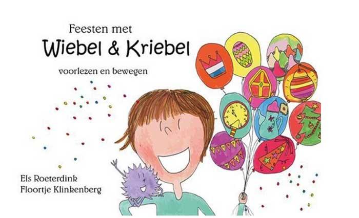 Voorlezen en bewegen met peuters en kleuters. Wiebel & Kriebel boeken!