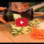 Courgette spaghetti maken