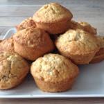 Recept voor suikervrije havermoutmuffins