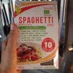 Biologische glutenvrije koolhydraatarme pasta