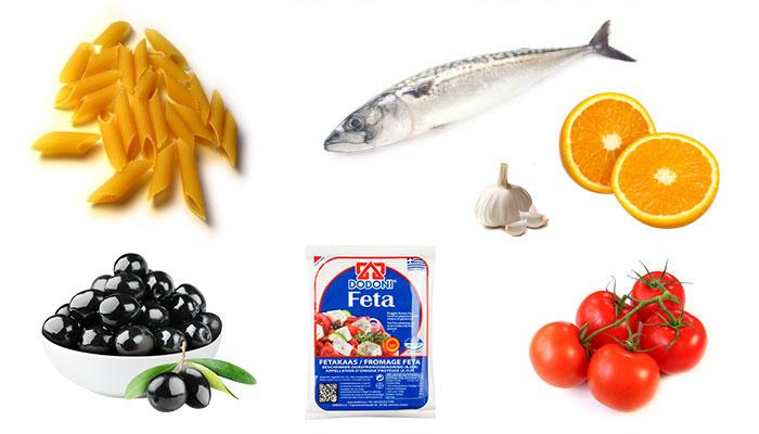 Pittig pastarecept met makreel