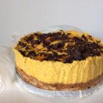 Recept voor een pompoen-cheese-cake