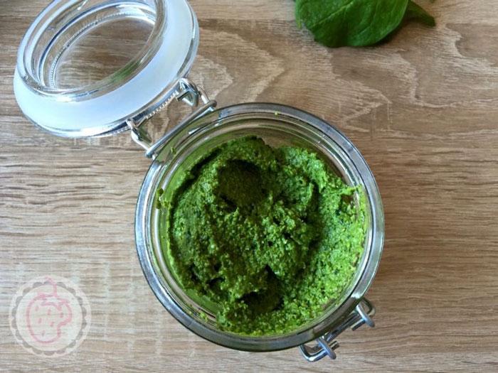 Recept voor spinaziepesto, lekker en gezond!