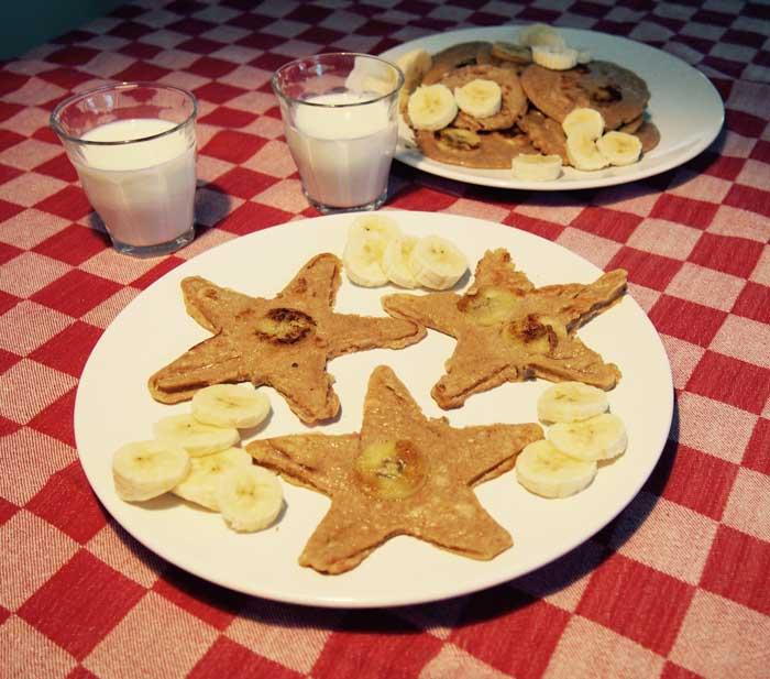 Lekkere en gezonde Americain Pancakes van boekweitmeel