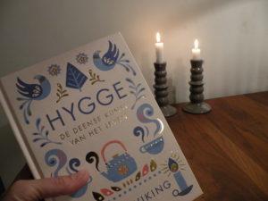 Boek over Hygge, de echte Deense gezelligheid, die wij hier ook omarmen.