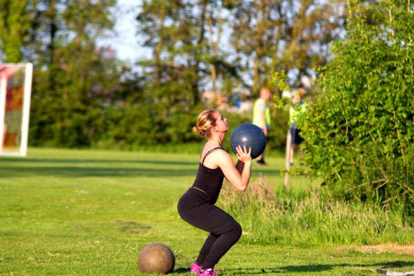 kun je buiten sporten met een verkoudheid