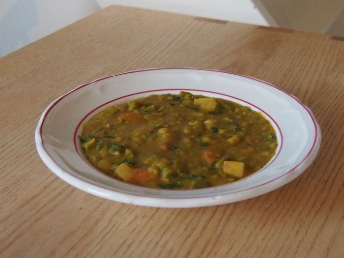 Recept voor vegetarische snert