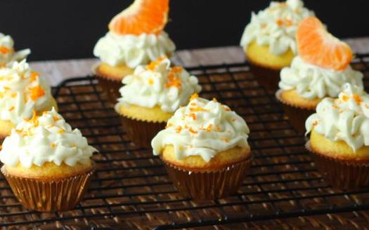 Mandarijn Cupcakes