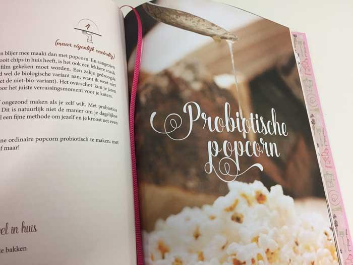 Probiotische popcorn maken