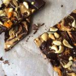 Chocoladereep met sinaasappelsmaak, makkelijk zelf maken!