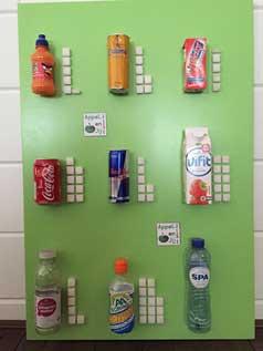Suiker in producten, etiketten lezen
