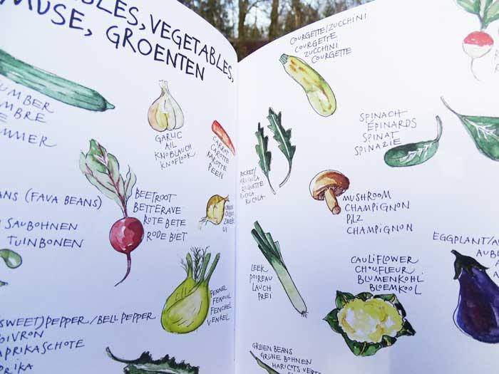 food notebook | erg leuk receptenschrift van yvette van boven