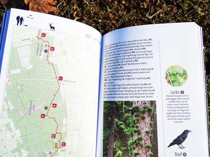 32 wandelingen vormen samen het langste natuurpad van Nederland