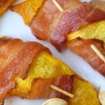 Pompoen-bacon snack, een verrassend koolhydraatarm tussendoortje