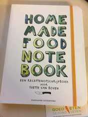 Recepten notitieboek van Yvette van Boven
