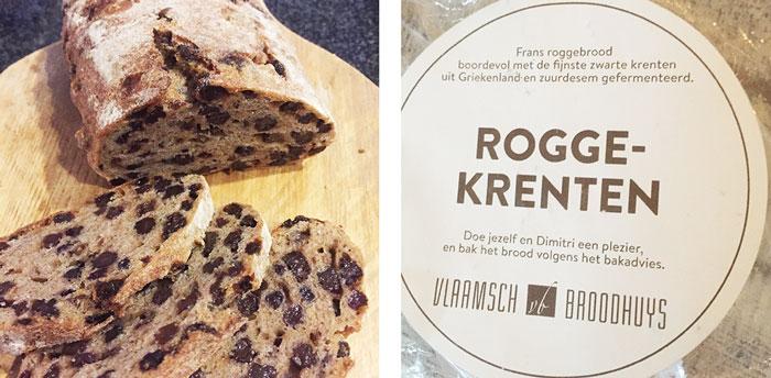 Rogge-krentenbrood, zuurdesem