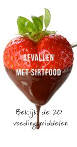 Afvallen met Sirtfood