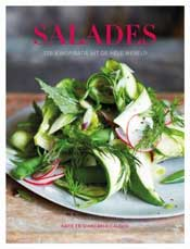 Boek vol salades