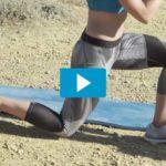 Goede oefening voor strakke benen en billen