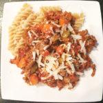 Recept voor een goed vullende Pasta Bolognese