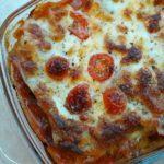 Slanke lasagne met kalkoen en mozzarella
