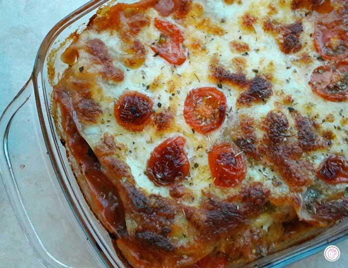 Slanke lasagne met kalkoen
