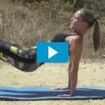 Goede oefening om strakke bovenarmen te krijgen