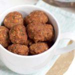 Recept voor linzenballetjes met noten en pesto