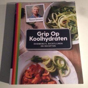 Nieuwe boek Grip op Koolhydraten. Wel koolhydraten eten, maar dan gedoseerd.