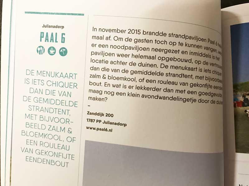 Eetgelegenheden Nederlandse badplaatsen, culinaire kustgids