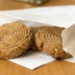 Gezonde notenkoekjes met havermeel en notenpasta