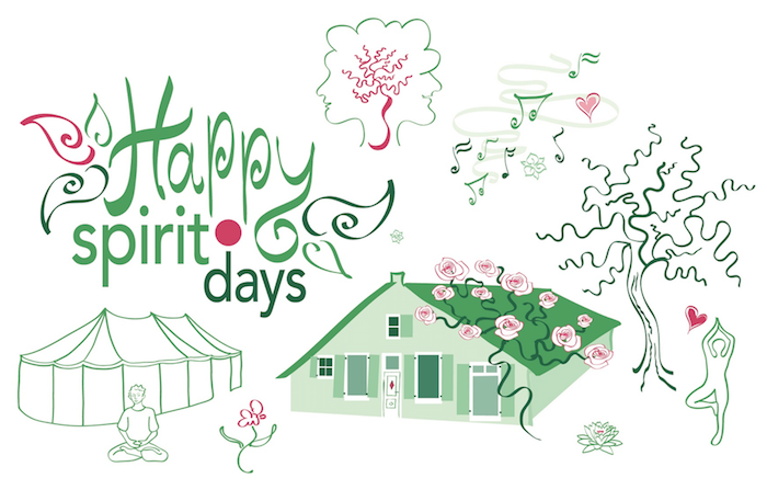 Happy Spirits Day 2017 in Blaricum. Leuk ontspannen event in juni.