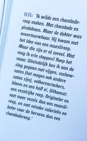 Tekst uit het medisch kookboek, Lekker Beter